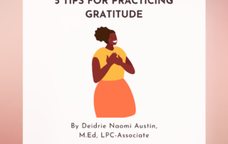 5 Tips for Practicing Gratitude